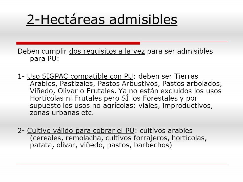 2-Hectáreas admisibles