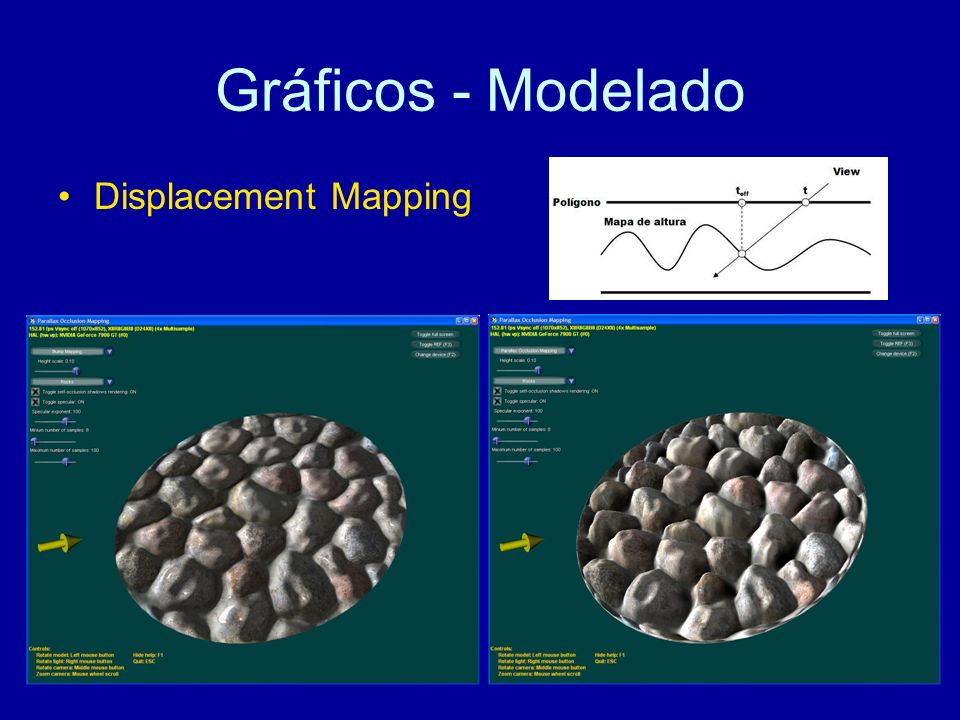 Gráficos - Modelado Displacement Mapping
