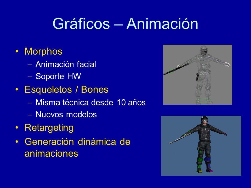 Gráficos – Animación Morphos Esqueletos / Bones Retargeting