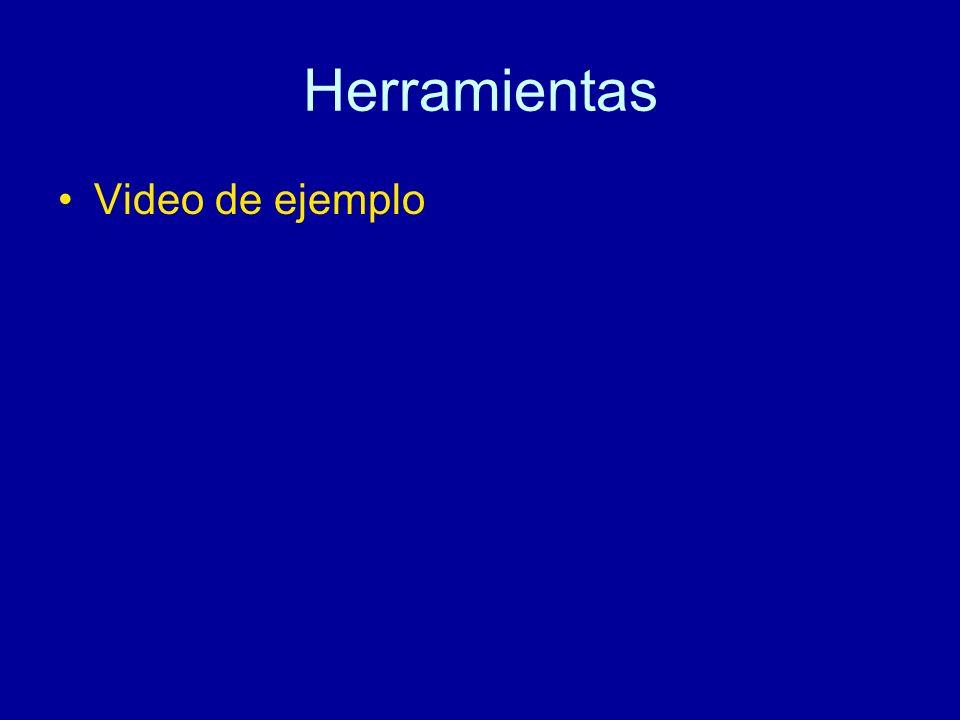 Herramientas Video de ejemplo