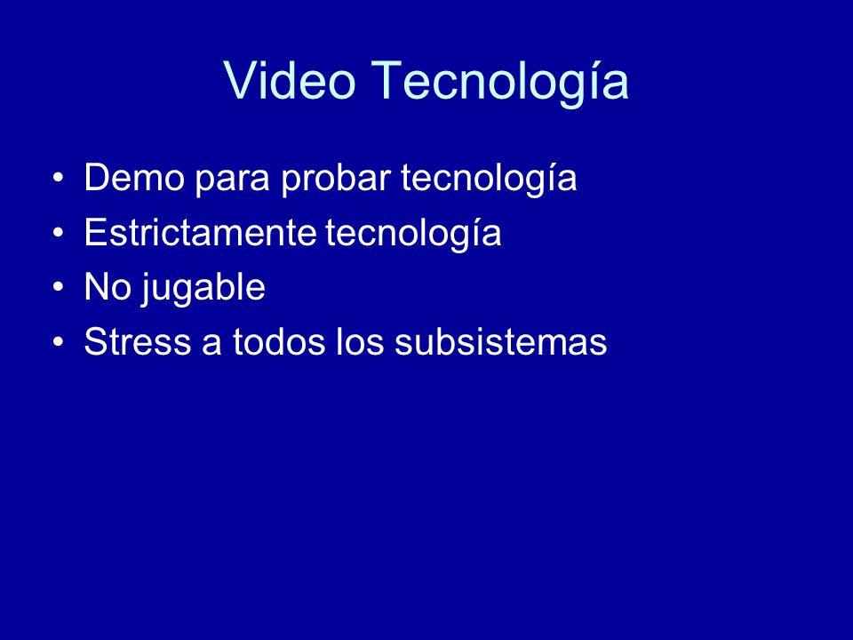 Video Tecnología Demo para probar tecnología Estrictamente tecnología