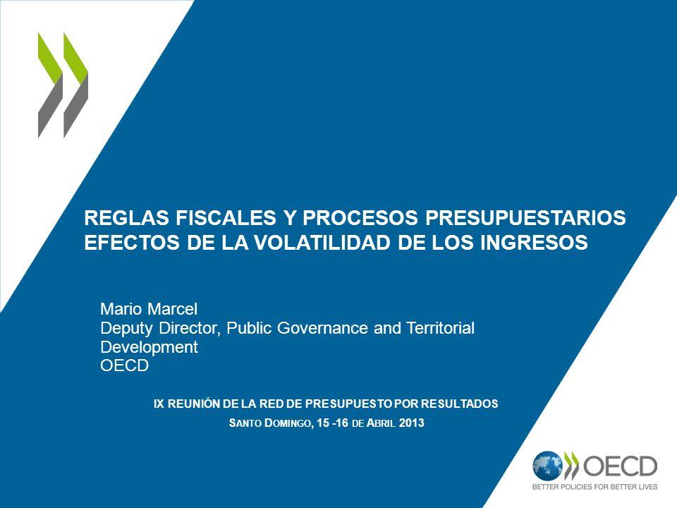 Reglas Fiscales y Procesos Presupuestarios EFECTOS DE LA Volatilidad de los ingresos