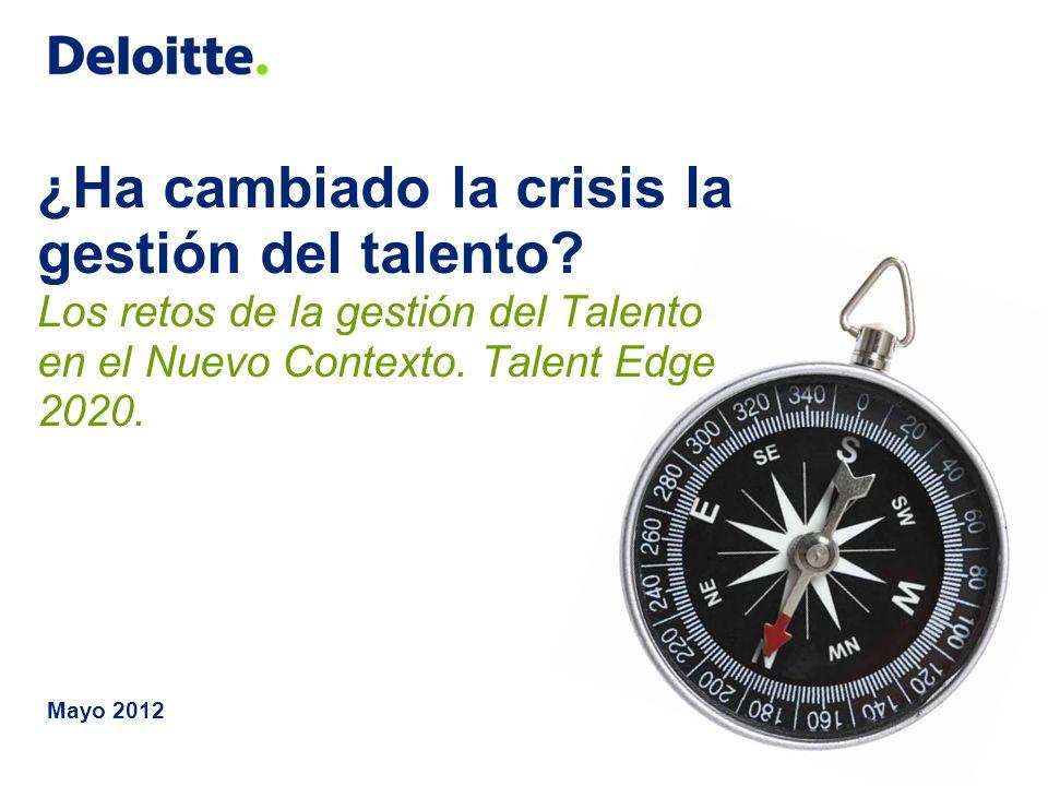 ¿Ha cambiado la crisis la gestión del talento
