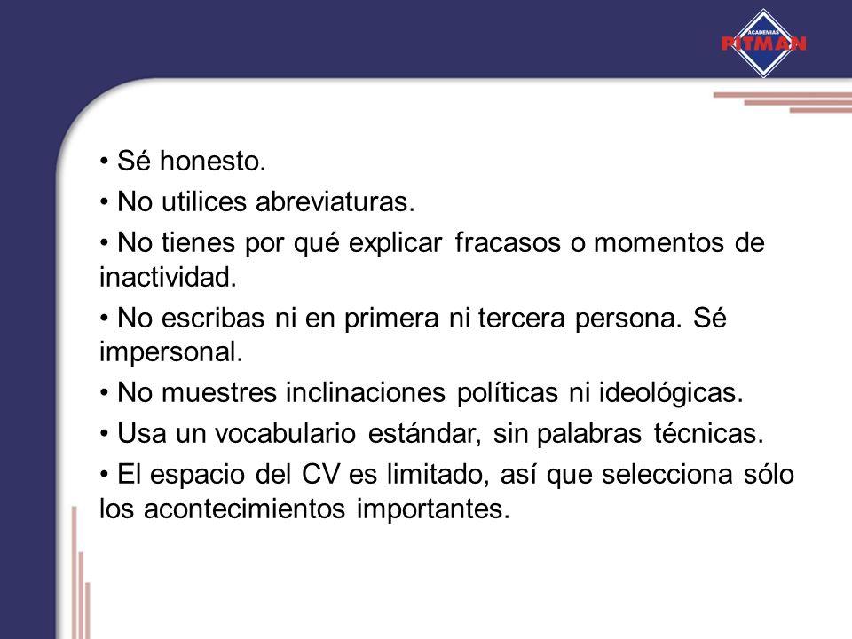 Curriculum vitae primera o tercera persona *** writing the essay