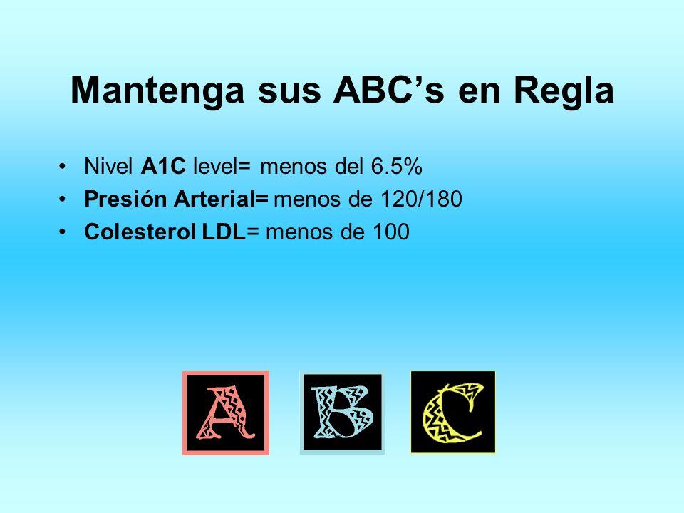 Mantenga sus ABC's en Regla