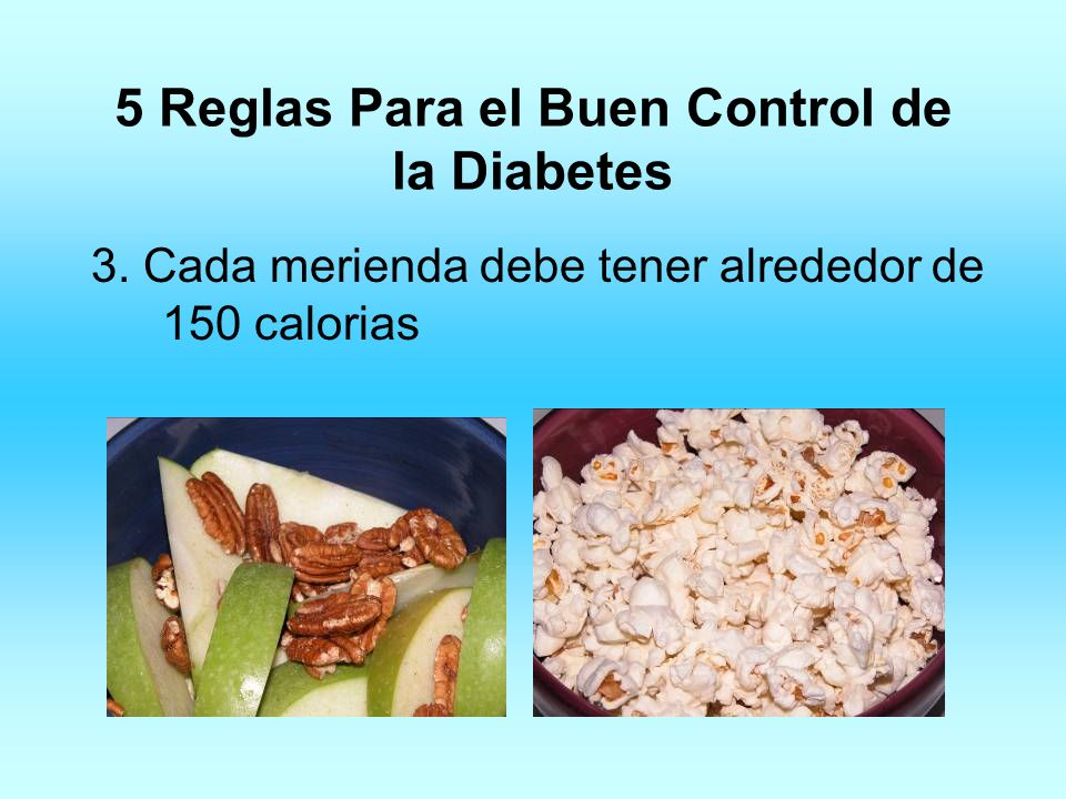 5 Reglas Para el Buen Control de la Diabetes