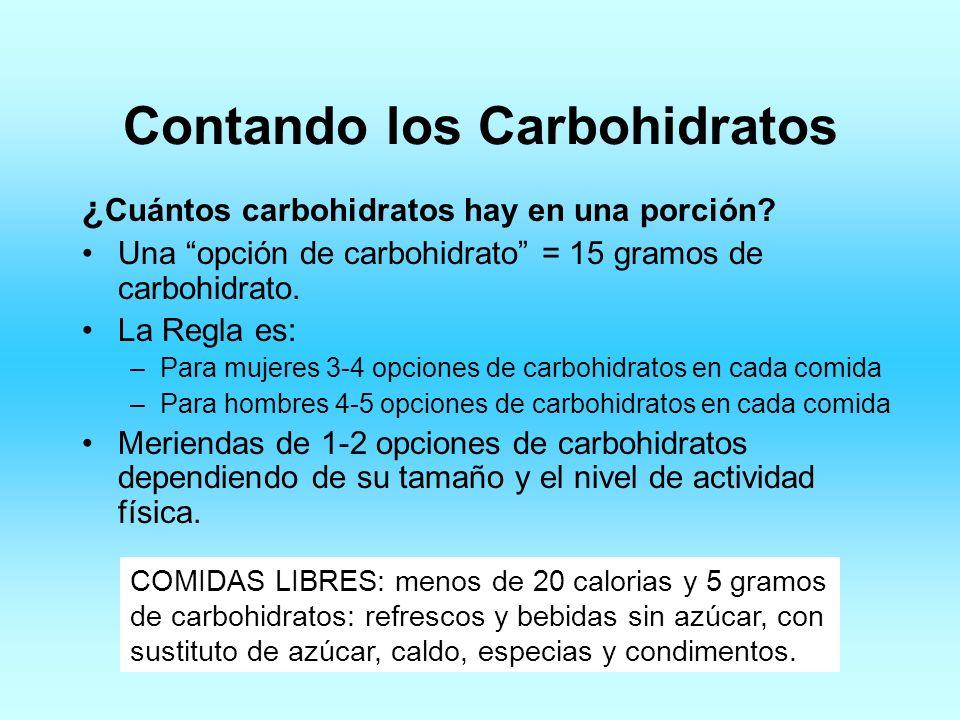 Contando los Carbohidratos