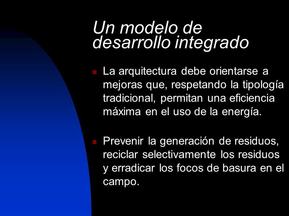 Un modelo de desarrollo integrado