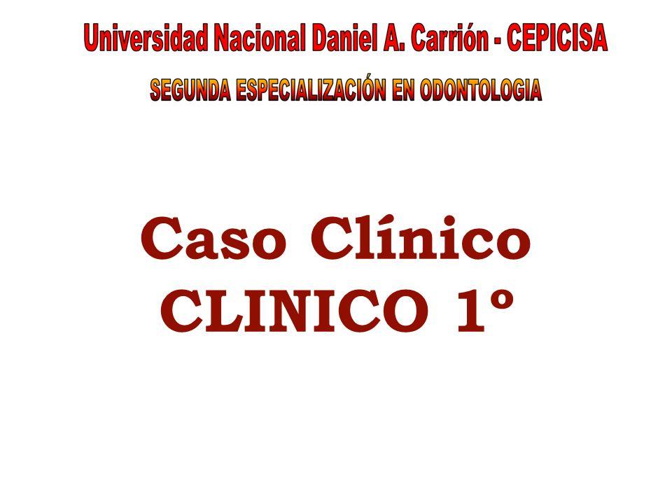 Caso Clínico CLINICO 1º