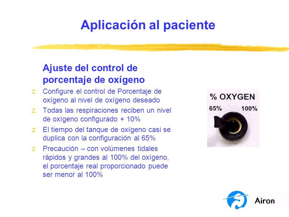 Aplicación al paciente