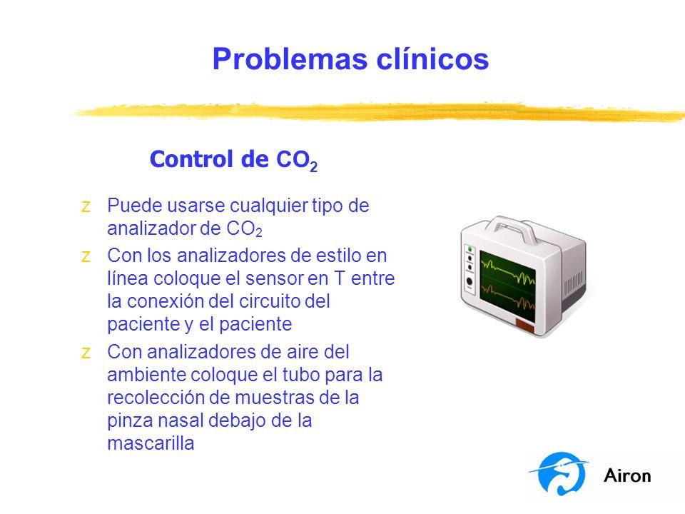 Problemas clínicos Control de CO2