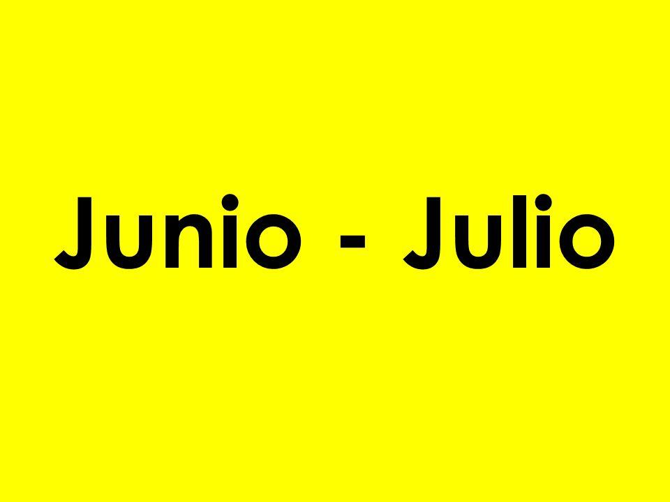 Junio - Julio