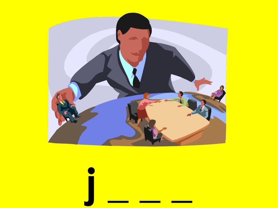 j _ _ _