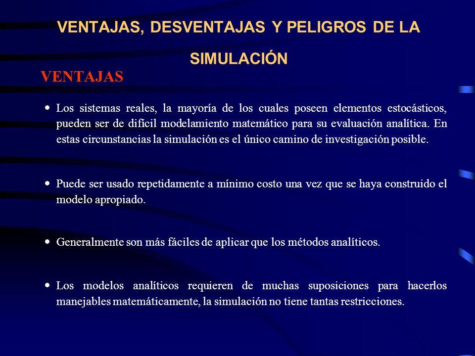 VENTAJAS, DESVENTAJAS Y PELIGROS DE LA SIMULACIÓN