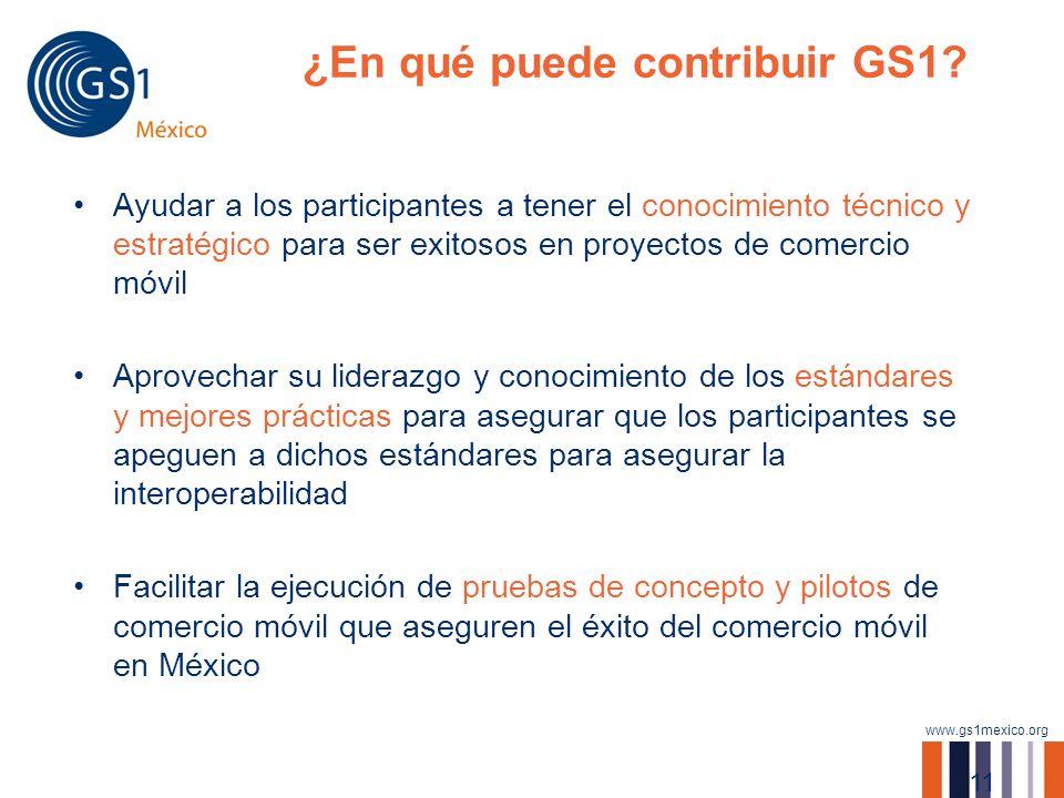 ¿En qué puede contribuir GS1