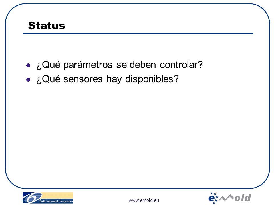 Status ¿Qué parámetros se deben controlar
