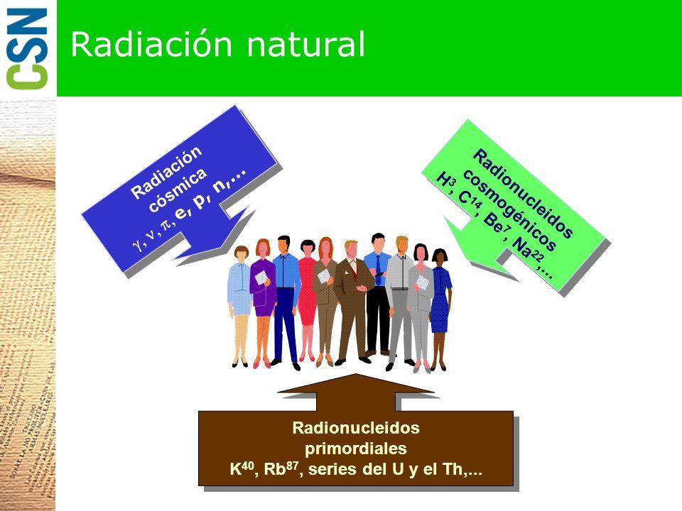Radionucleidos cosmogénicos