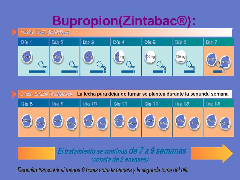 Bupropion(Zintabac®):
