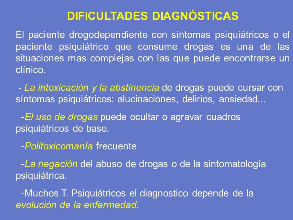 DIFICULTADES DIAGNÓSTICAS