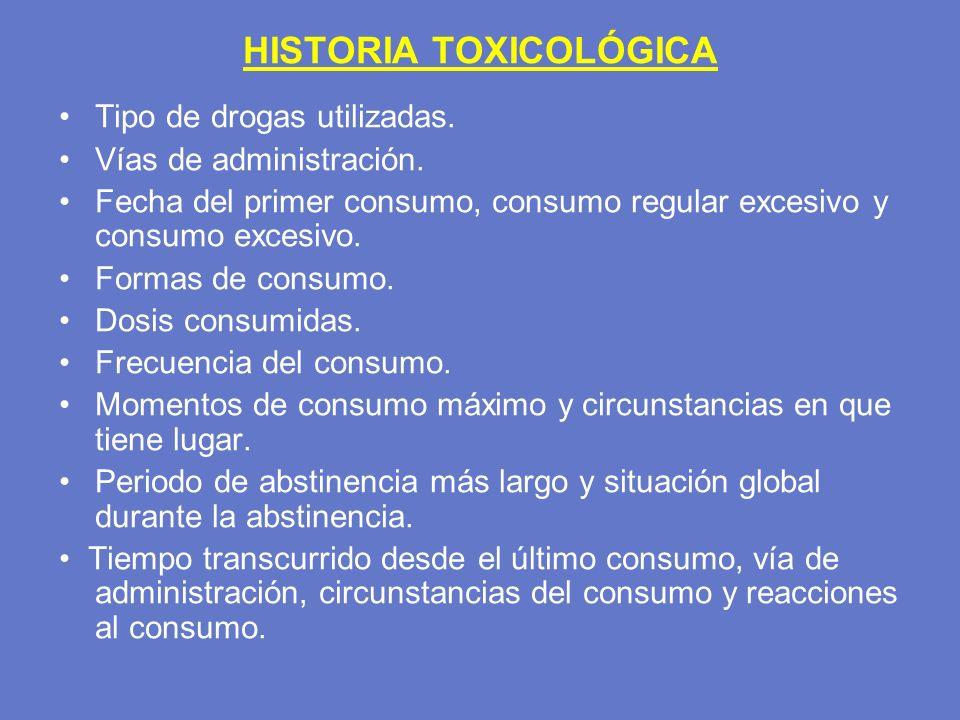 HISTORIA TOXICOLÓGICA