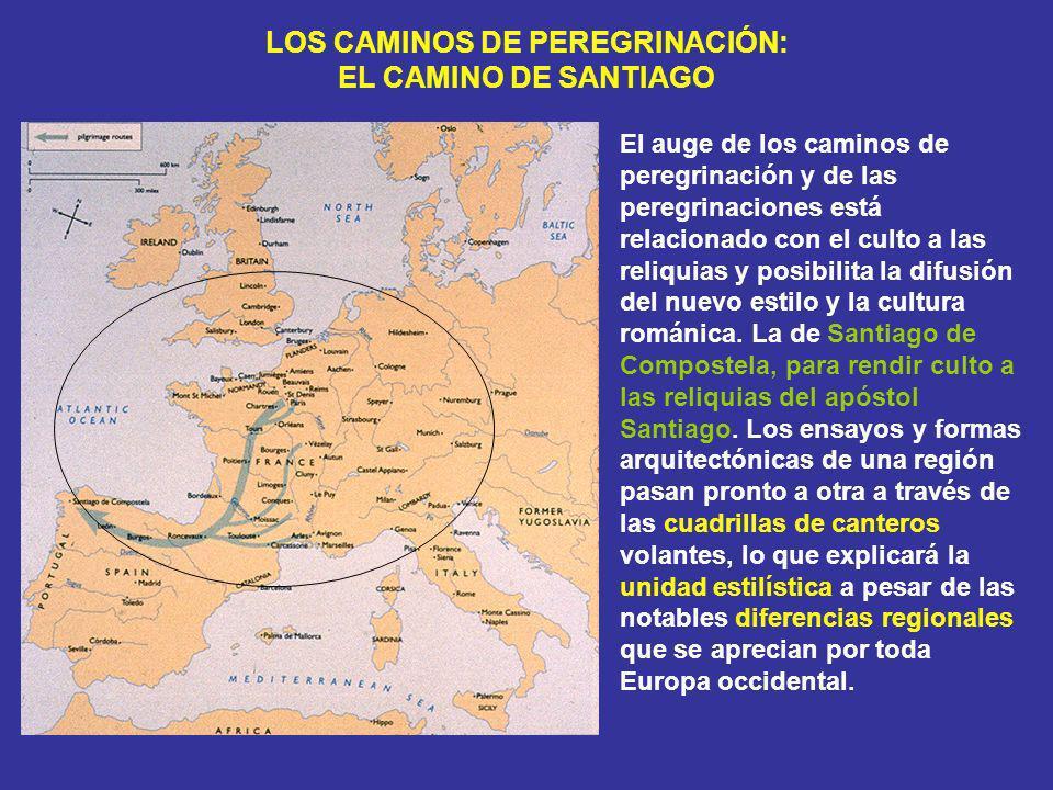 LOS CAMINOS DE PEREGRINACIÓN: EL CAMINO DE SANTIAGO