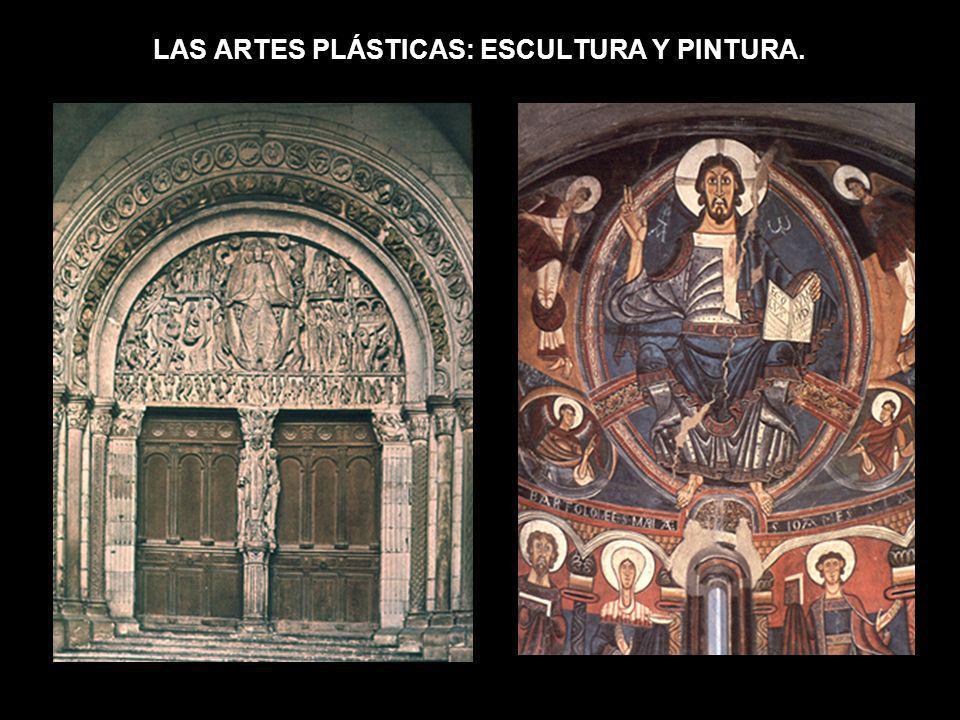 LAS ARTES PLÁSTICAS: ESCULTURA Y PINTURA.