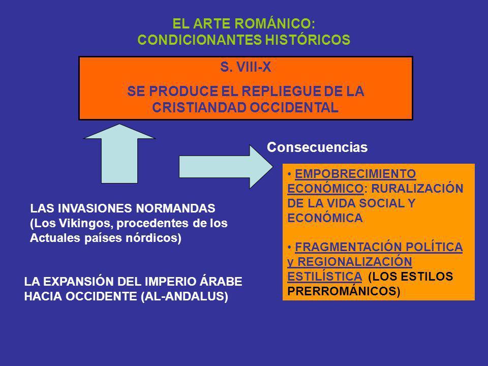 EL ARTE ROMÁNICO: CONDICIONANTES HISTÓRICOS