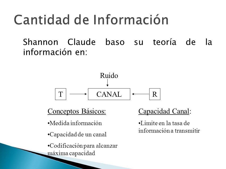 Cantidad de Información