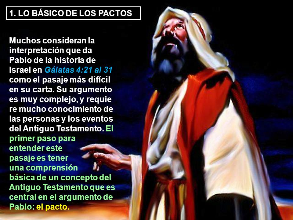1. LO BÁSICO DE LOS PACTOS