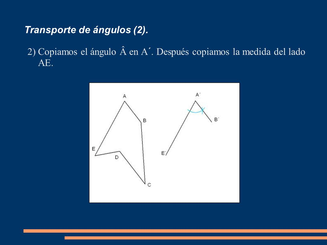 Transporte de ángulos (2).