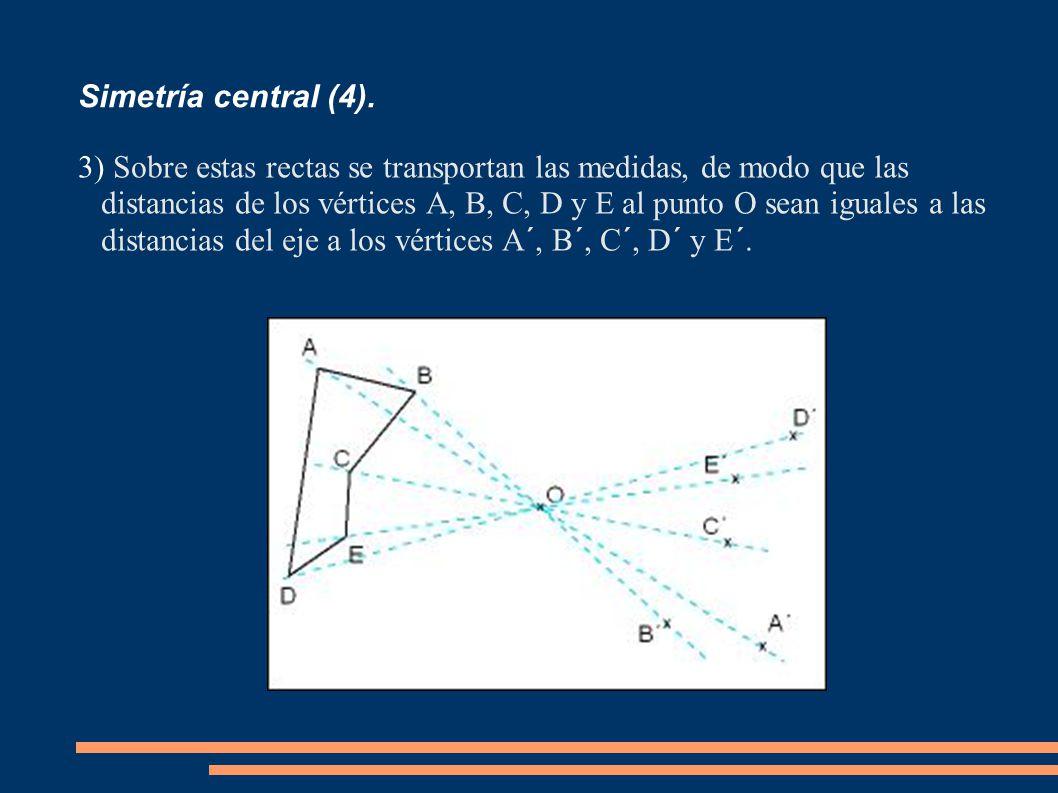 Simetría central (4).