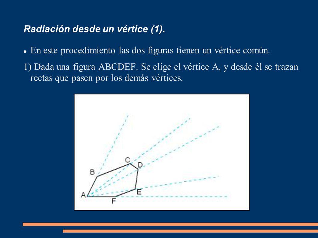 Radiación desde un vértice (1).