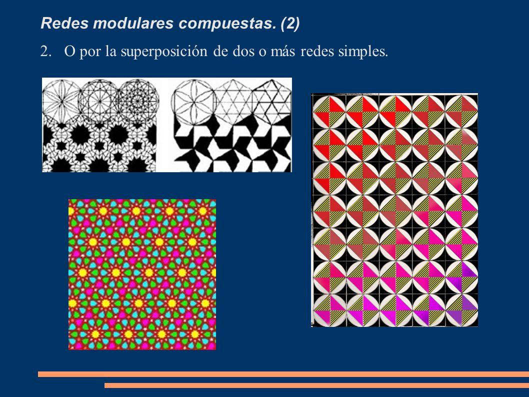 Redes modulares compuestas. (2)