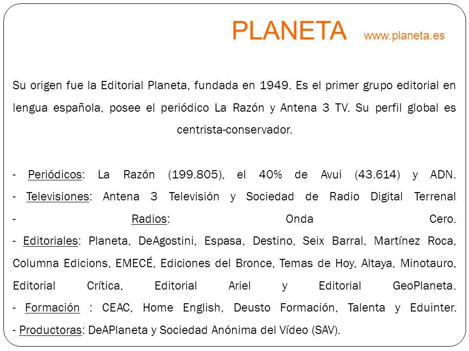 PLANETA www.planeta.es