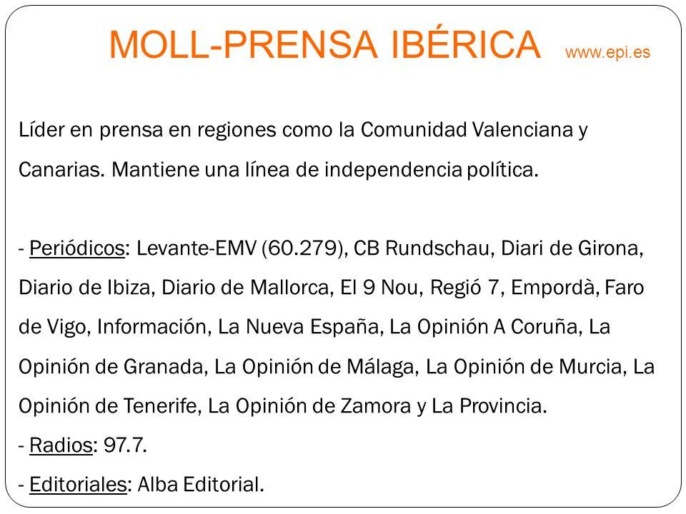 MOLL-PRENSA IBÉRICA www.epi.es