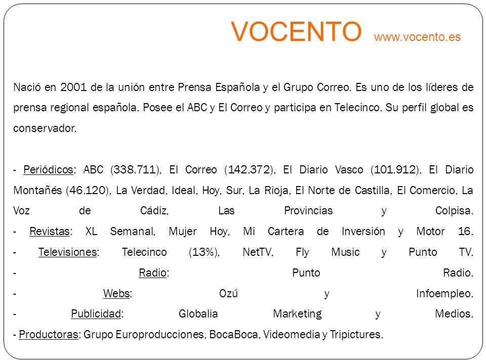 VOCENTO www.vocento.es