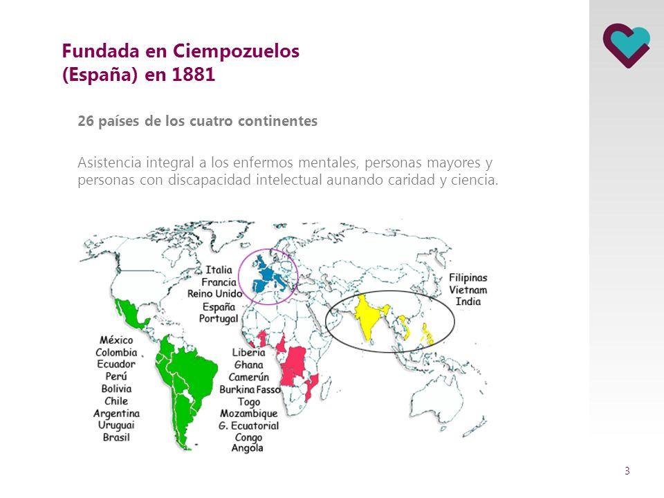 Fundada en Ciempozuelos (España) en 1881