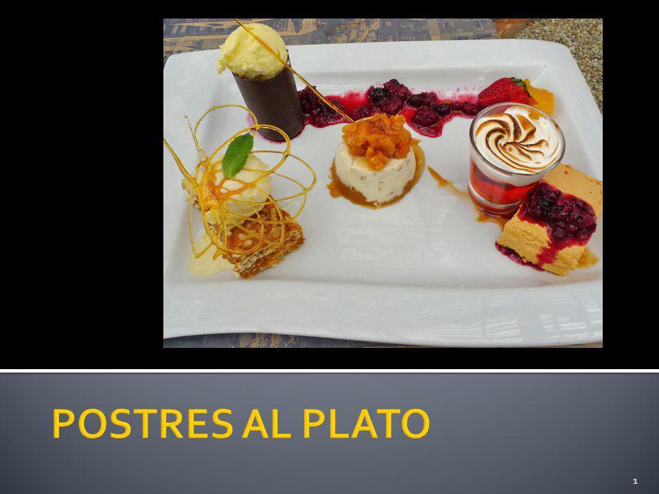 Postres al plato ppt descargar for Platos dulces