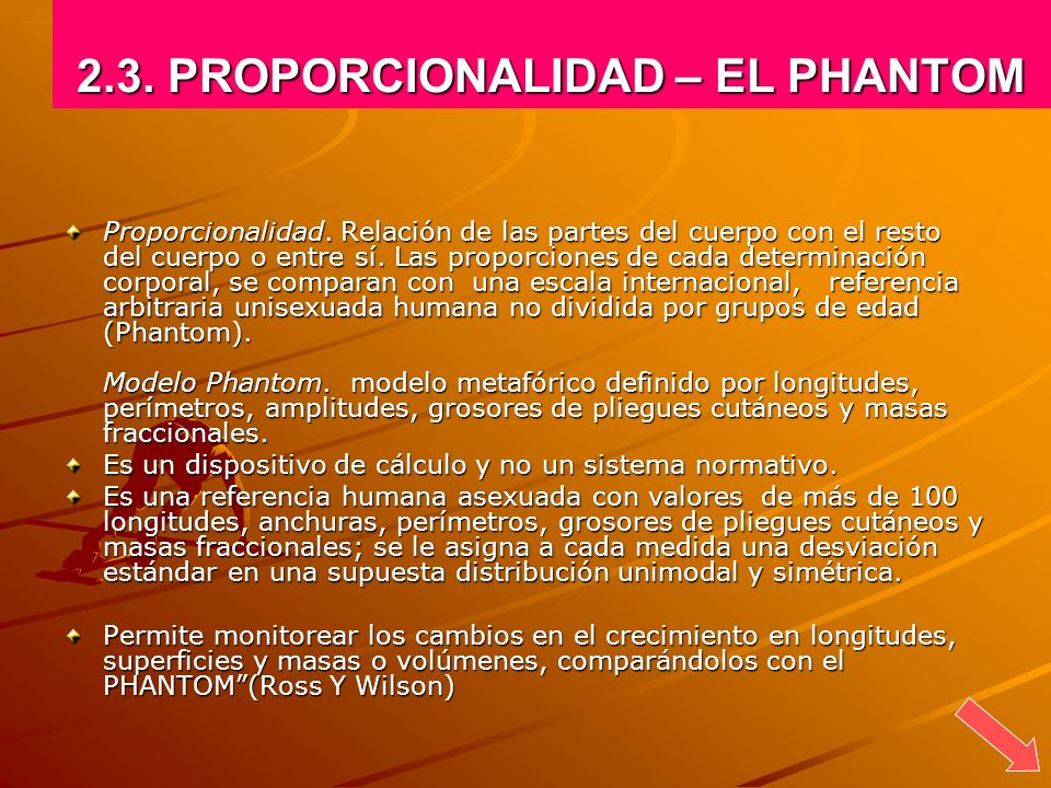 2.3. PROPORCIONALIDAD – EL PHANTOM