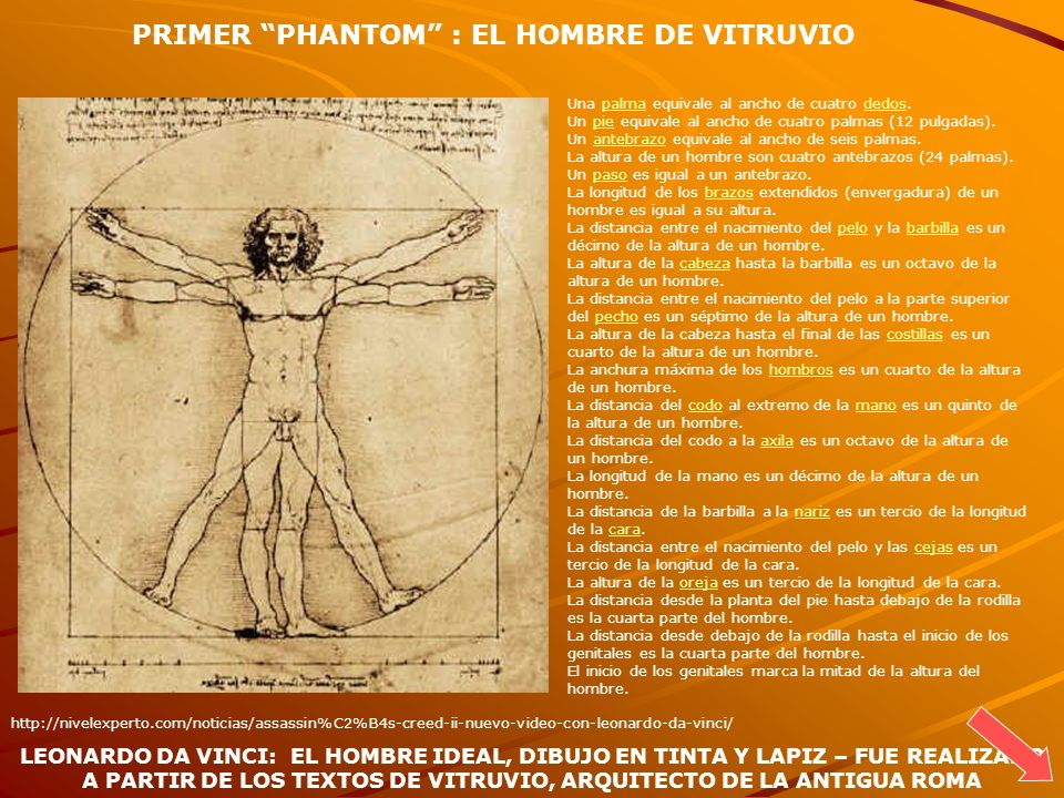 PRIMER PHANTOM : EL HOMBRE DE VITRUVIO