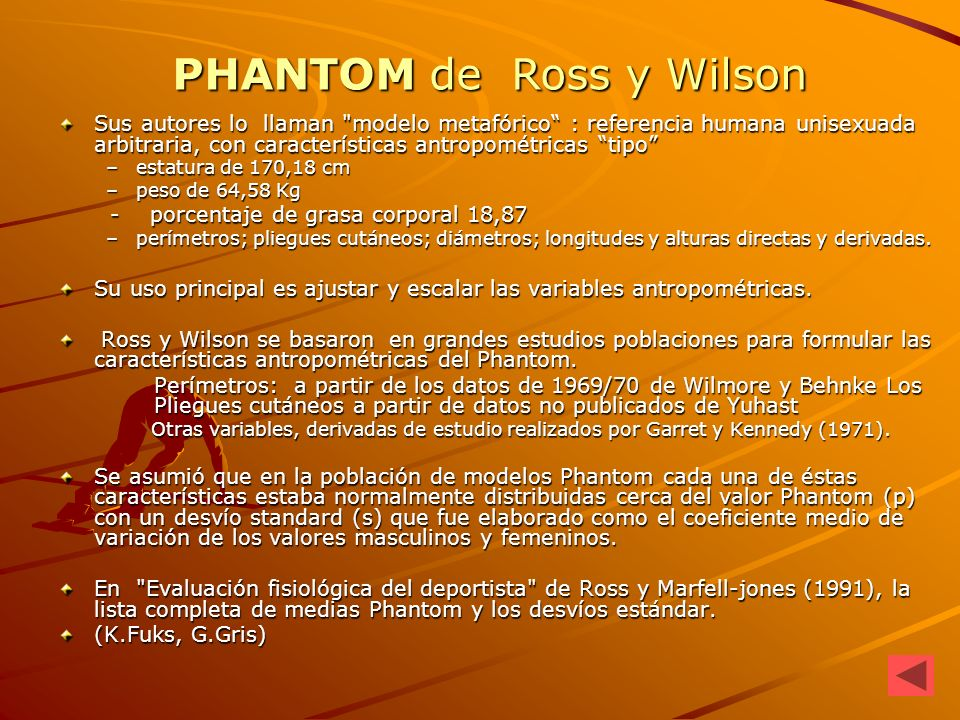 PHANTOM de Ross y Wilson