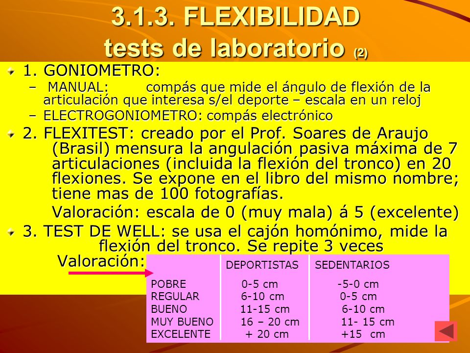 FLEXIBILIDAD tests de laboratorio (2)