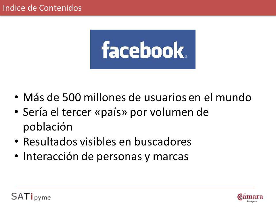 Más de 500 millones de usuarios en el mundo