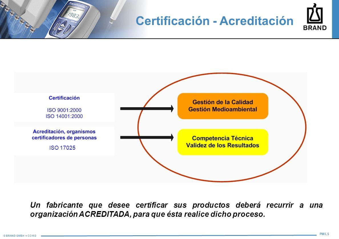Certificación - Acreditación