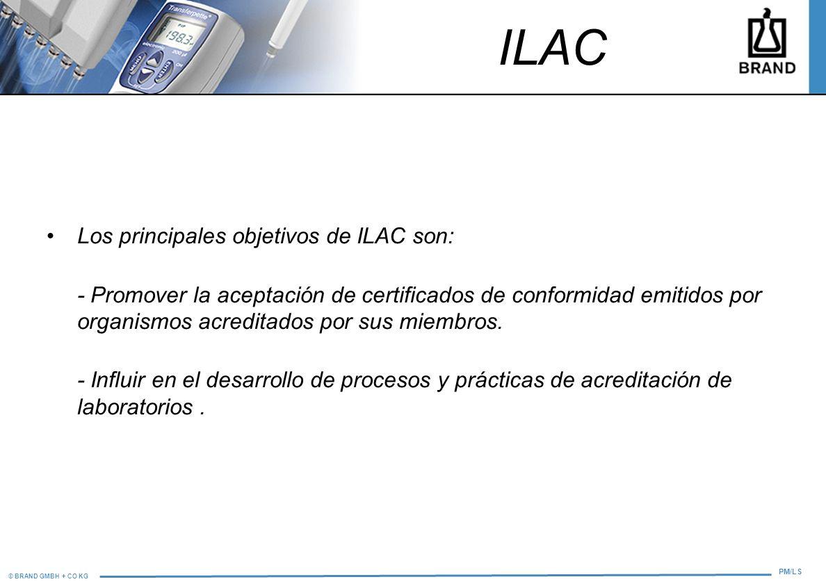 ILAC Los principales objetivos de ILAC son: