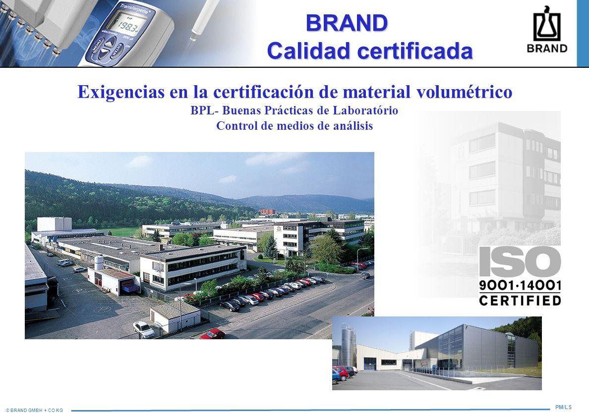 BRAND Calidad certificada