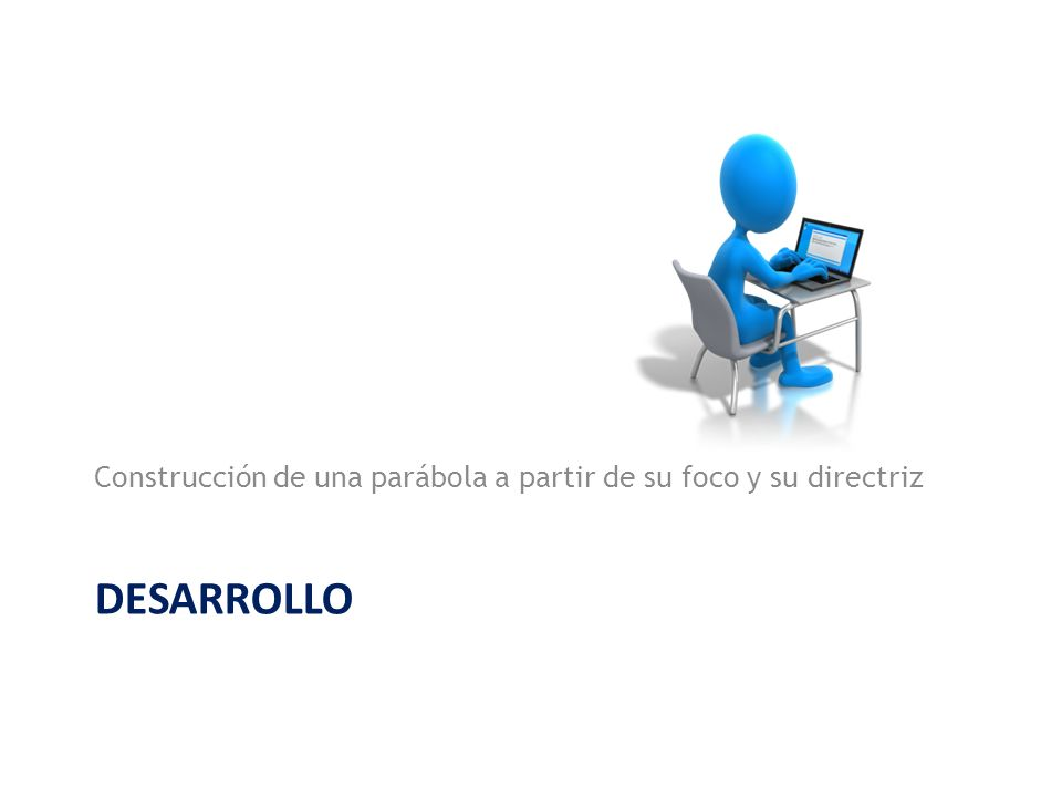 Construcción de una parábola a partir de su foco y su directriz