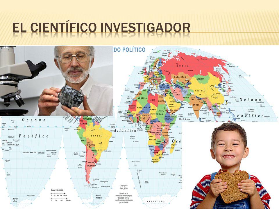El científico investigador