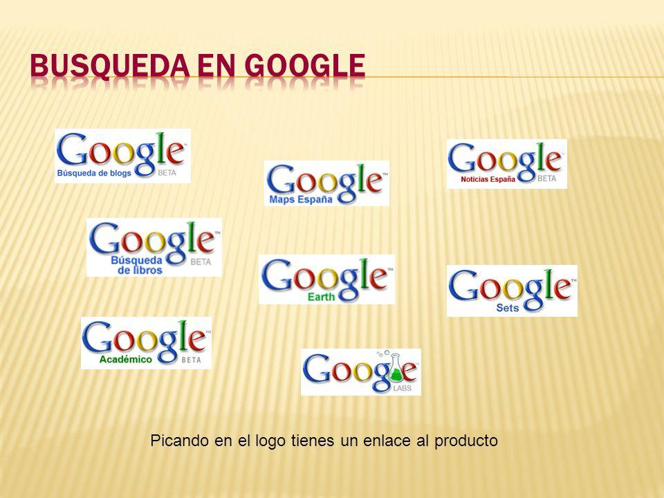 Picando en el logo tienes un enlace al producto