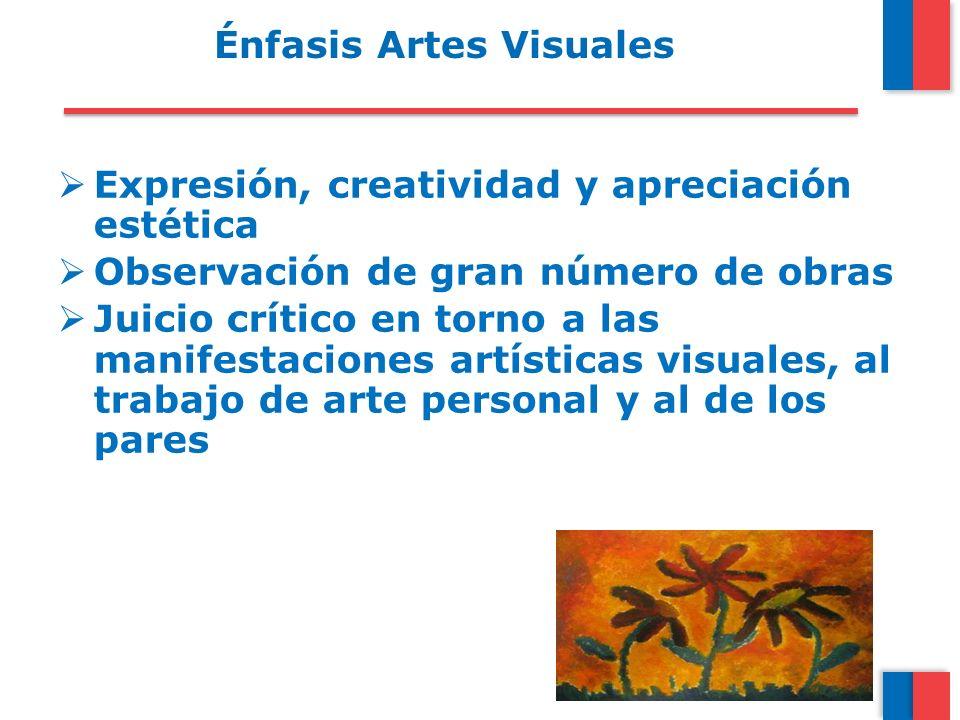 Énfasis Artes Visuales